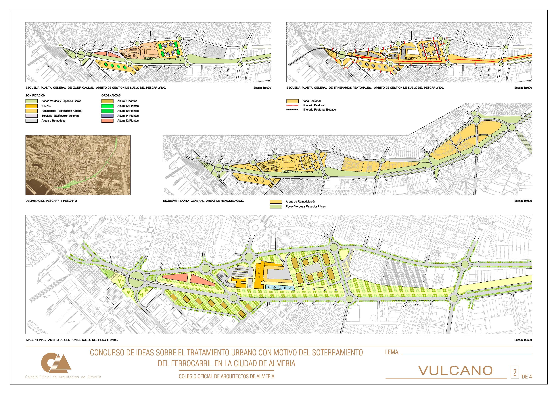 Soterramiento del Ferrocarril en Almería | GÓNGORA arquitectos