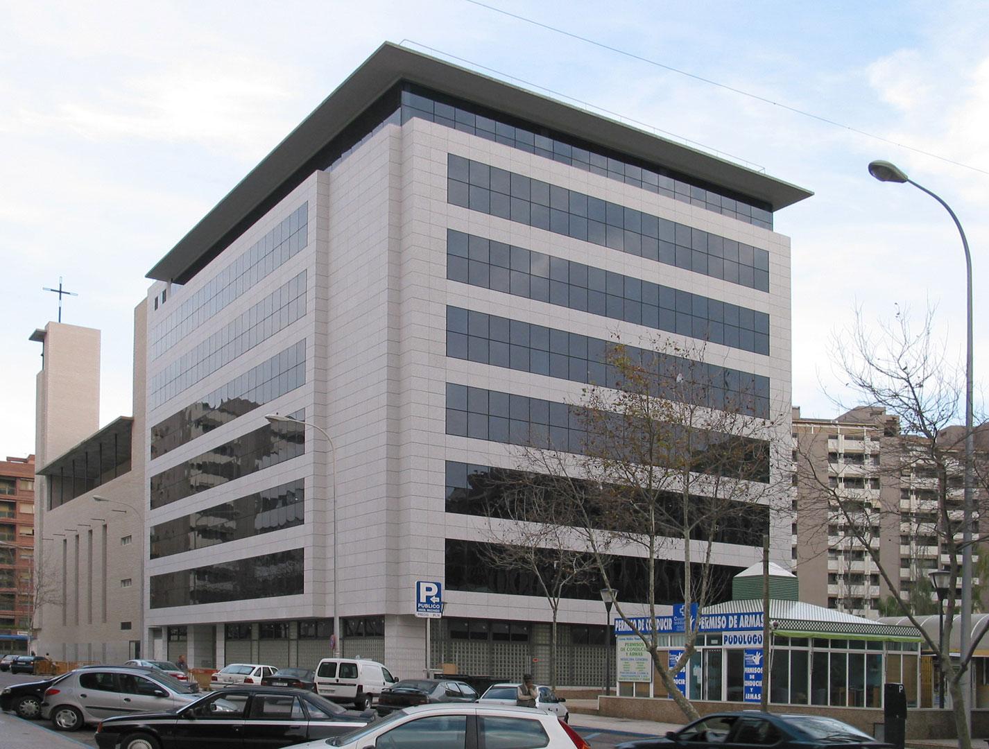 edificio de oficinas almer a g ngora arquitectos ForOficinas Unicaja Almeria