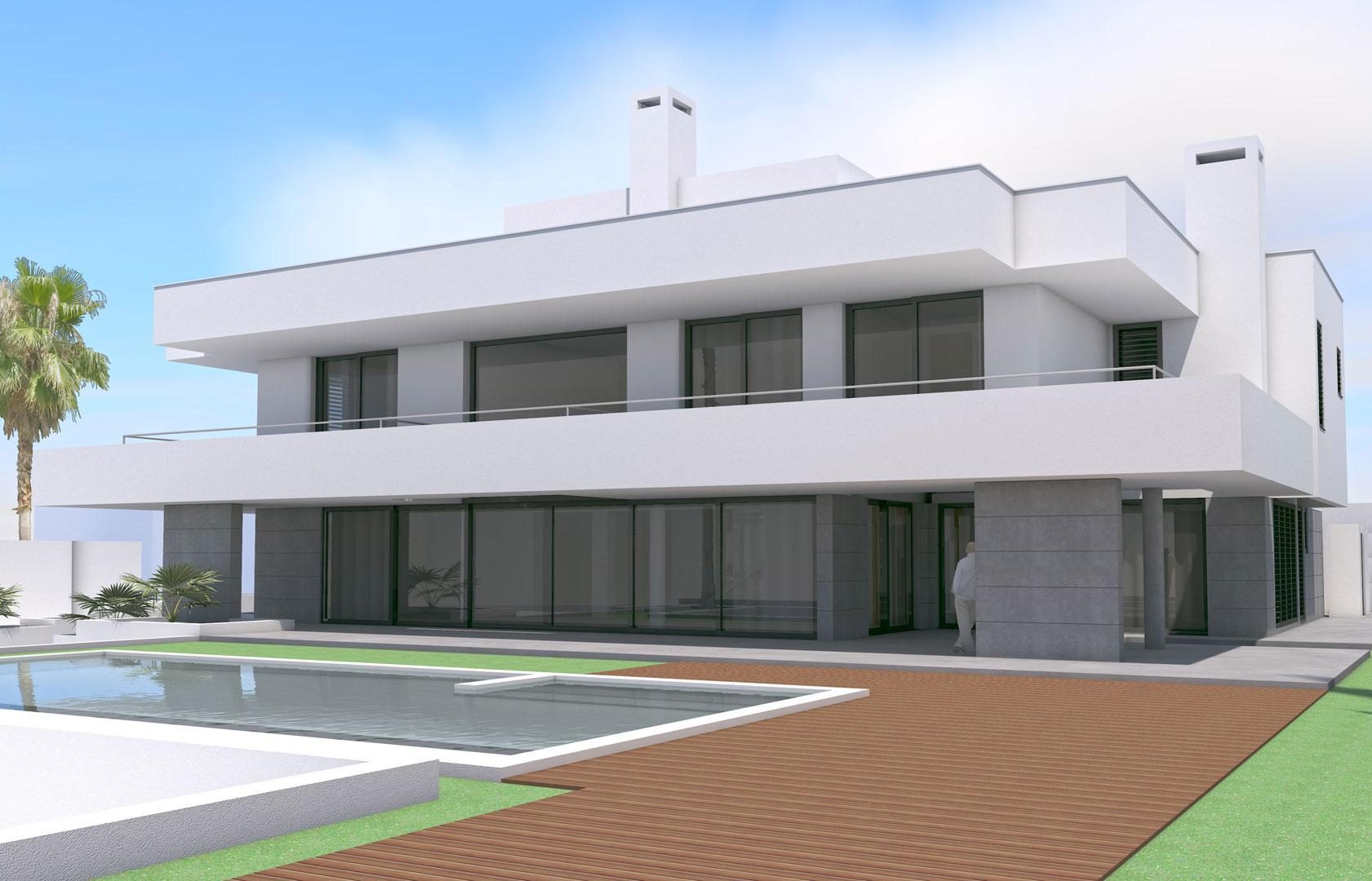 Vivienda unifamiliar en aguadulce g ngora arquitectos - Vivienda en almeria ...