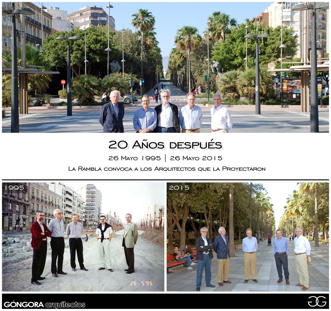 Ordenación Urbana de la Rambla de Almería | GÓNGORA arquitectos