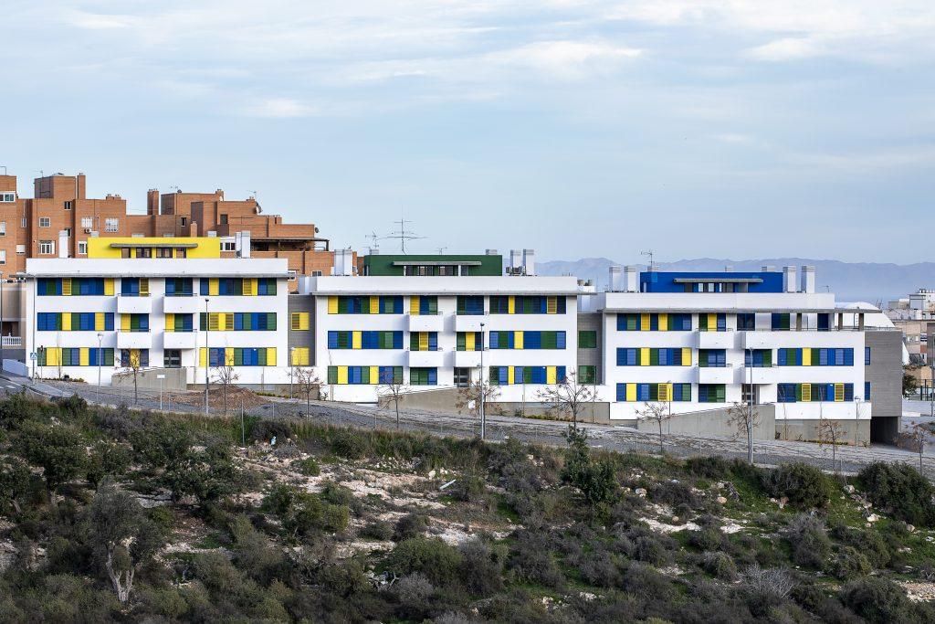 Residencial La Molineta. 35 VPO en el Barrio de Los Ángeles. Almería